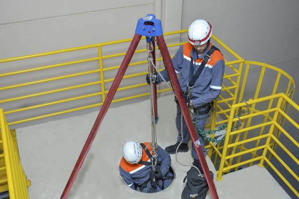 Curso para NR33/08h - Reciclagem - Capacitação de Supervisores de Entrada em Espaço Confinado